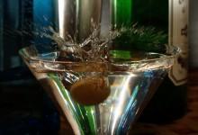 Martini, oliven